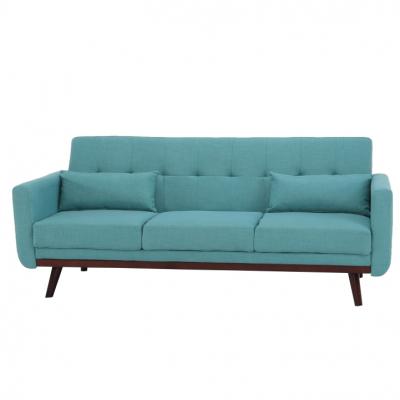 Canapea extensibilă, 200 x 85 x 85cm, turcoaz, ARKADIA8