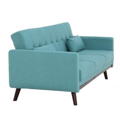 Canapea extensibilă, 200 x 85 x 85cm, turcoaz, ARKADIA3