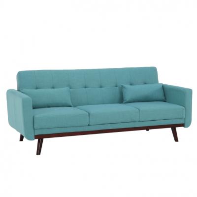 Canapea extensibilă, 200 x 85 x 85cm, turcoaz, ARKADIA0