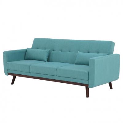 Canapea extensibilă, 200 x 85 x 85cm, turcoaz, ARKADIA1