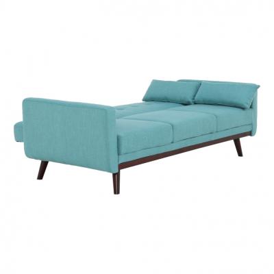 Canapea extensibilă, 200 x 85 x 85cm, turcoaz, ARKADIA9