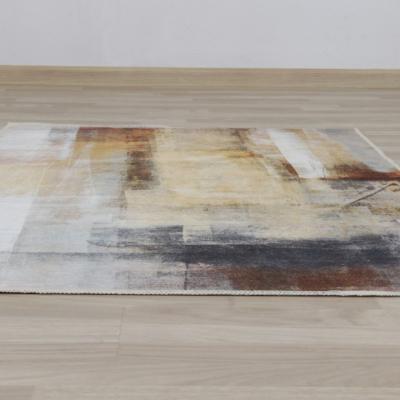 Covor 80x150 cm, maro/gri, ESMARINA TIP 12