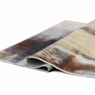 Covor 80x150 cm, maro/gri, ESMARINA TIP 13