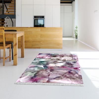 Covor Delila, model roz/verde/crem, 180x270 cm1