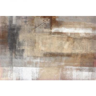 Covor 80x150 cm, maro/gri, ESMARINA TIP 10