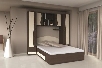 Dormitor tineret cu ancadrament Albert