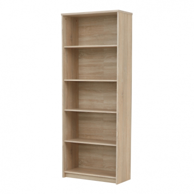 Etajera office stejar sonoma, JOHAN NEW 04, 72,5x33,8x186 cm