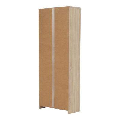Etajera office stejar sonoma, JOHAN NEW 04, 72,5x33,8x186 cm3