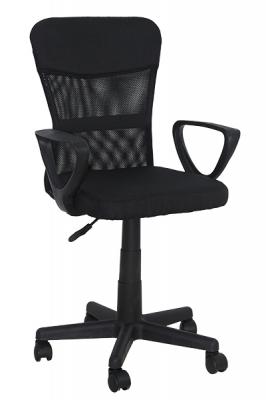 Scaun birou  copii OFF621 negru0
