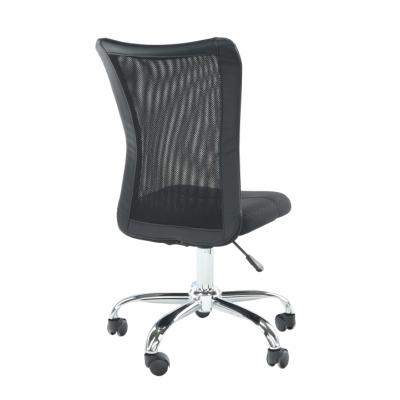 Scaun birou ergonomic Idor, mesh negru cu stofa
