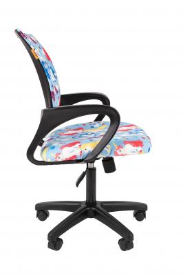 Scaun birou pentru copii  rotativ Semba 103 black model unicorn2