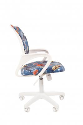 Scaun birou pentru copii  rotativ Semba 103 white model masini2