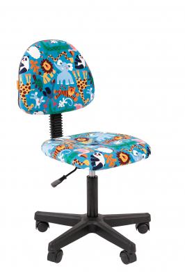 Scaun birou pentru copii  rotativ Semba 104 black zoo0