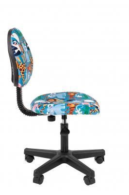 Scaun birou pentru copii  rotativ Semba 104 black zoo2