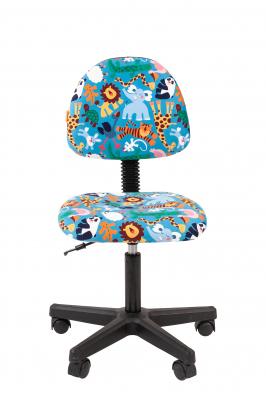 Scaun birou pentru copii  rotativ Semba 104 black zoo1