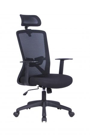 Scaun ergonomic rotativ Joy cu tetiera [0]