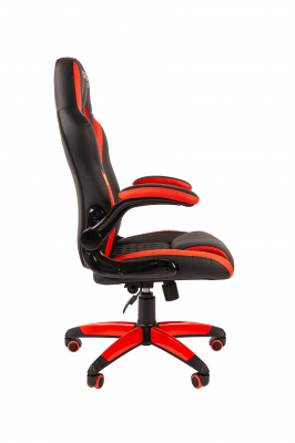Scaun gaming rotativ Semba 15 negru/rosu  suport lombar2