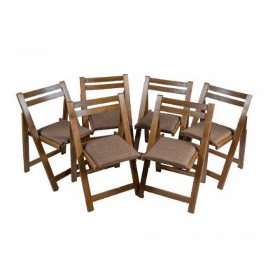 Masa plianta cu 6 scaune stejar baituit1