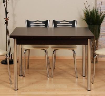 Set masa cu 4 scaune Wenge0
