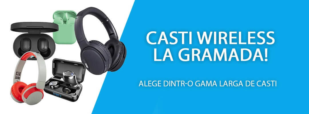 Casti Wireless
