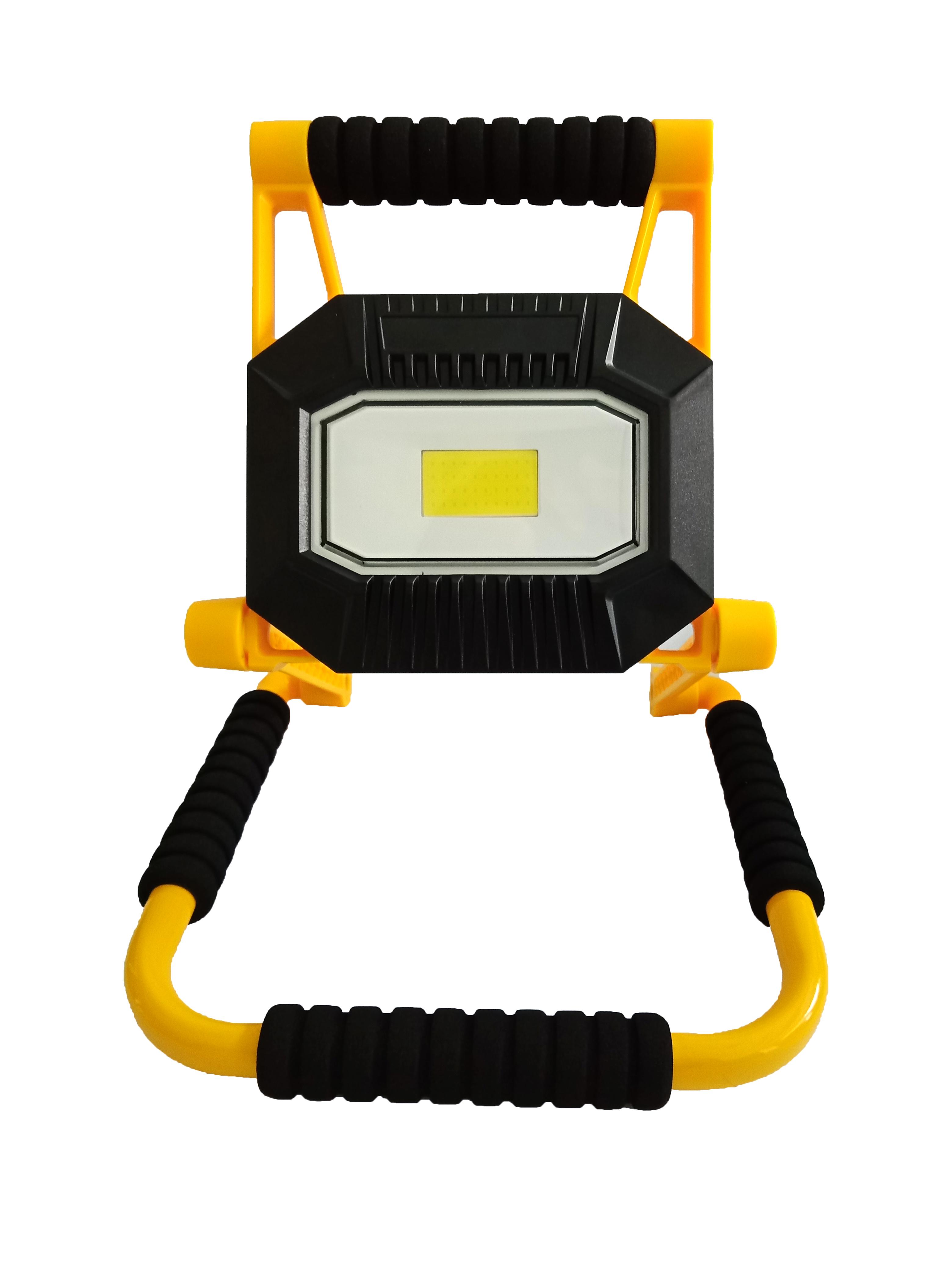 Proiector LED portabil reincarcabil 20W 1400lm IP65 Well [0]