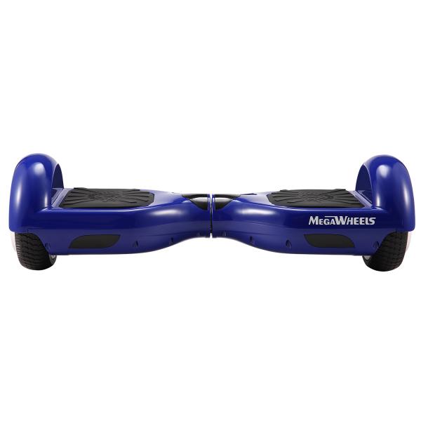 Hoverboard Electric , Megawheels, Albastru, Autonomie 15 km, Viteza max. 10km/H 0