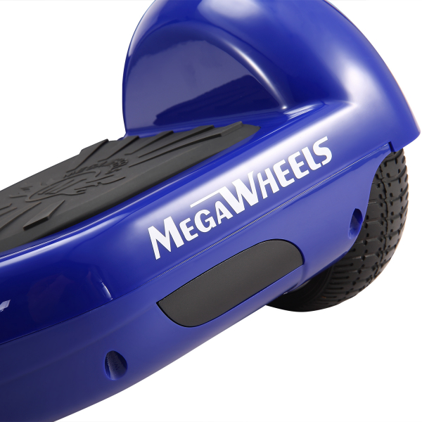 Hoverboard Electric , Megawheels, Albastru, Autonomie 15 km, Viteza max. 10km/H 1