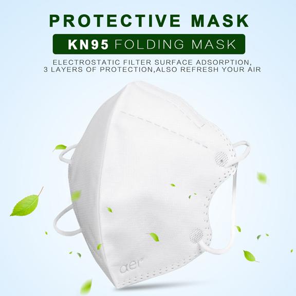 Masca KN95 Faciala Profesionala Set x10 Bucati cu 4 Straturi de Protectie [2]