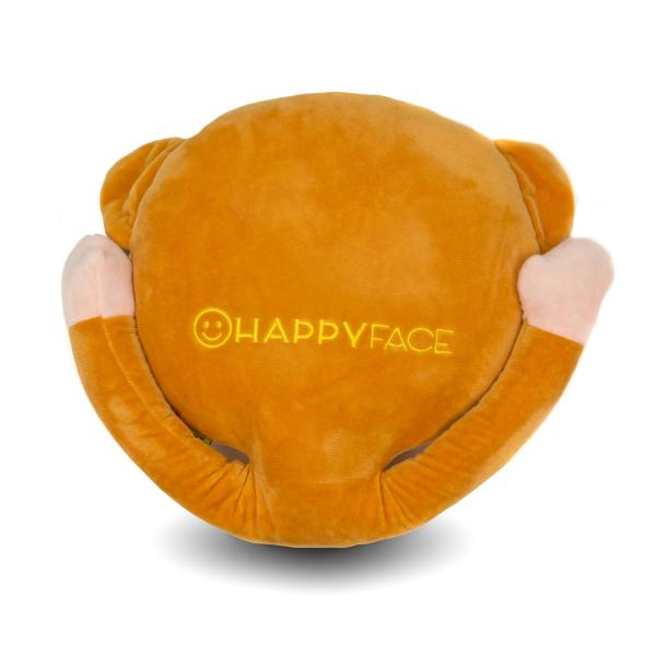 Perna decorativa Emoji Maimuta Happy Face 2