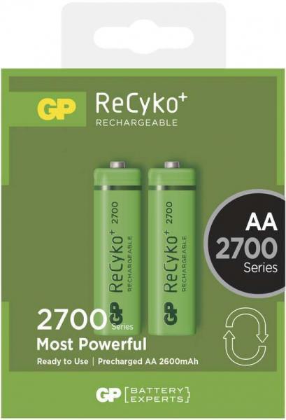 Acumulator AA (R6) NiMH Recyko+ GP 2700mAh 2 buc/blister 0