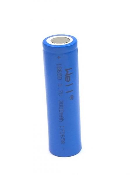 Acumulator industrial Li-ion terminal plat 18650 3.7V 3000mAh Well 0