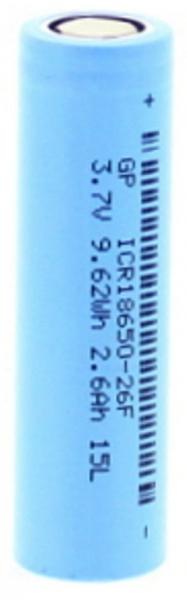 Acumulator Lithium-Ion 18650 2600mAh 18.3x65.2 GP [0]