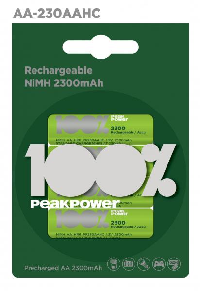 Acumulator NIMH Peakpower AA 2300mAh R6 [0]