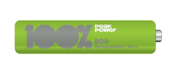 Acumulator NIMH Peakpower R3 (AAA) 800mAh [0]