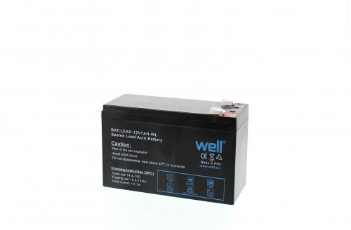 Acumulator plumb acid 12V 7AH Well 1