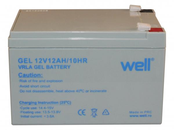 Acumulator plumb acid cu gel 12V 12Ah. Well 0
