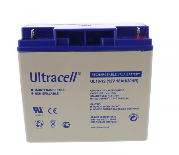 Acumulator plumb acid Ultracell 12V 18Ah [0]