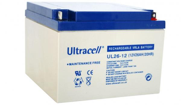 Acumulator plumb acid Ultracell 12V 26Ah 0