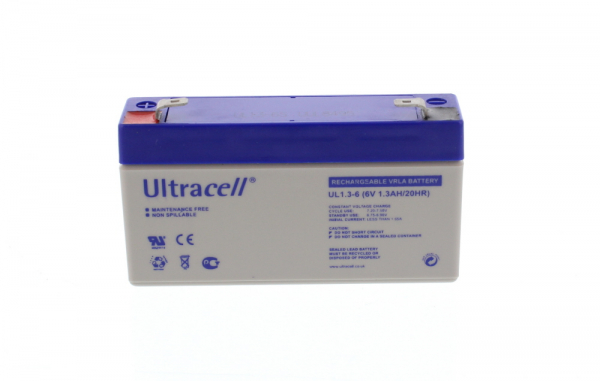 Acumulator plumb acid Ultracell 6V1.3Ah 0