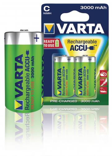 Acumulator R14 (C) 3000mAh Ready2Use 2buc/blister Varta 1