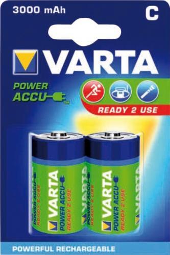 Acumulator R14 (C) 3000mAh Ready2Use 2buc/blister Varta 4