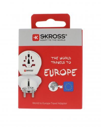 Adaptor priza universal World -> EU Skross 2