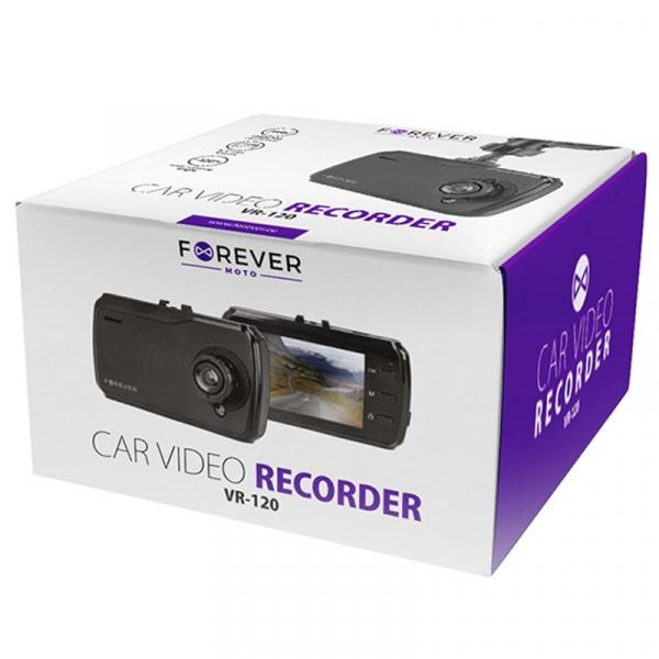 Camera Auto Forever Moto VR-120, HD, Ecran 2,4``TFT,  Negru 4