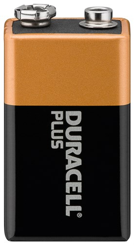 Baterie alcalina 9V 1buc/blister Plus Duracell 0