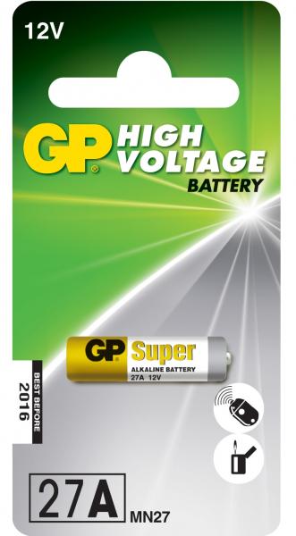 Baterie alcalina GP 12V 18mAh  7.7x28 1 buc/blister 0