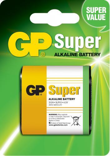 Baterie alcalina GP (3R12) 4.5V 0