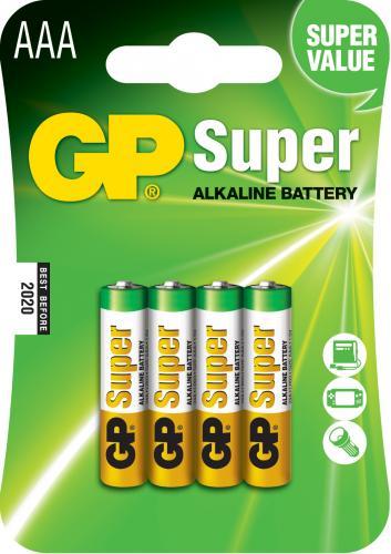 Baterie alcalina Super GP R3 (AAA) 4 buc/blister [0]