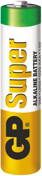 Baterie alcalina Super GP R3 (AAA) infoliata 0