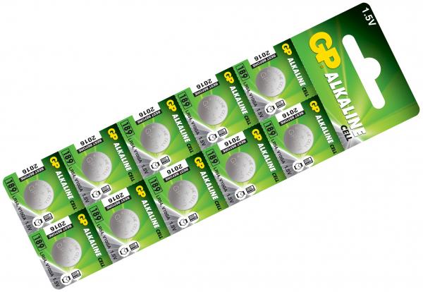 Baterie buton alcalina GP AG10 [0]