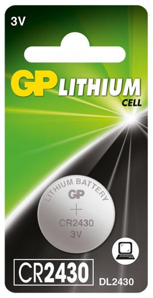 Baterie buton litiu GP 3V, 1buc/blister, GP 0